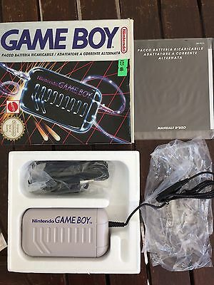 Accessori console GAME BOY CLASSIC rechargeable battery pack completo come nuovo