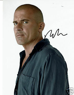 Dominic Purcell  American Actor Prison Break Hand Signed  Photograph 10 x 8