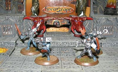 No Card Gladiatrons Wave 4 Zanafor's Discovery Heroscape D&D RPG Warhammer minis