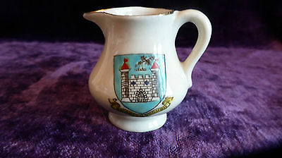 Venetia Crested China Knaresborough  Miniature Jug 5.5cm