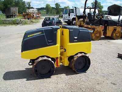 """2012 Bomag Bmp8500 Vibratory Remote Controlled Trench Roller """"only 579 Hours"""""""