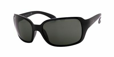 Ray Ban RB4068 601 60 Black Frame /  Green Classic G-15 Lenses