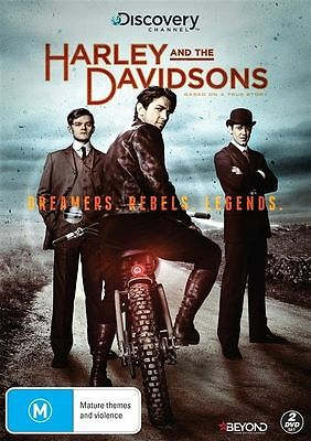 Harley And The Davidsons Dvd, New & Sealed, 2017 Release, Region 4. Free Post