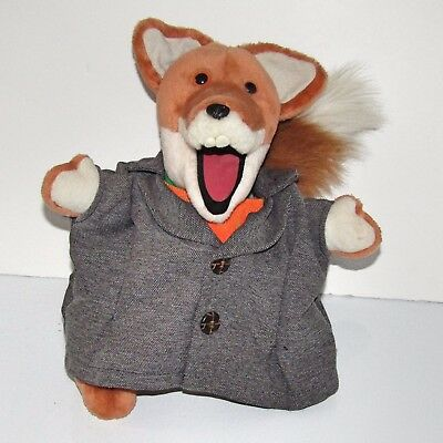 "Classic Talking Basil Brush   Deluxe 12"" Soft Toy  (Hasbro 2001 with Batteries)"
