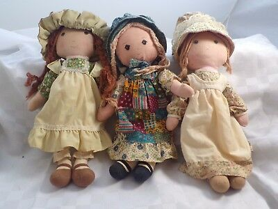 "Vintage 16"" Holly Hobbie and Friends!"