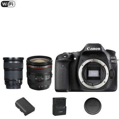 CANON EOS 80D 24 2MP DSLR Camera (Body Only) #1263C004 ALL YOU NEED