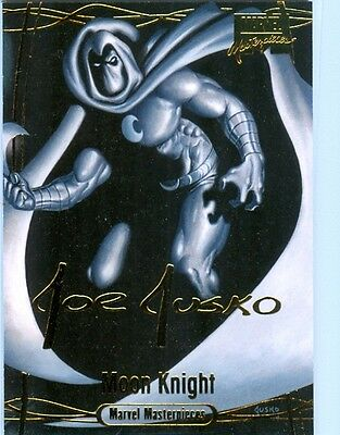 Moon Knight Gold Foil Signature #31 - Joe Jusko's Marvel Masterpieces 2016