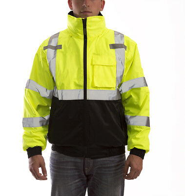 Tingley J26172 Bomber 3.1 Jacket, ANSI Class 3, Zip-Out Liner, Waterproof, M-4XL