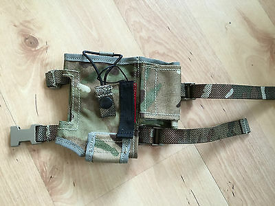 NEW: British army issue MTP MOLLE PRR  Bowman Radio Pouch Metal Detecting BOGOF