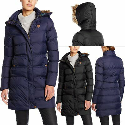 Kids Brave Soul Padded Puffer Jackets Casual Quilted Parka Coats Fur Collar Hood