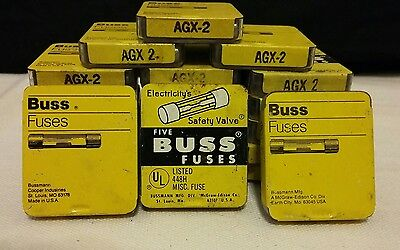 New Buss Fuses AGX 2  3 Sliders with 15 fuses