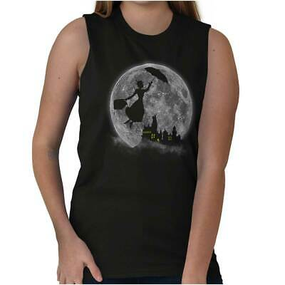 Mary Poppin Walt Disney Funny Shirt Cute Hogwart Sleeveless T Shirt