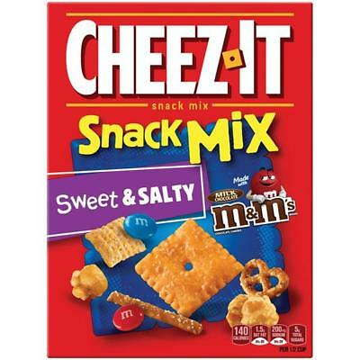 New Sealed Cheez It Snack Mix Sweet & Salty 8 Oz Made With M&m's