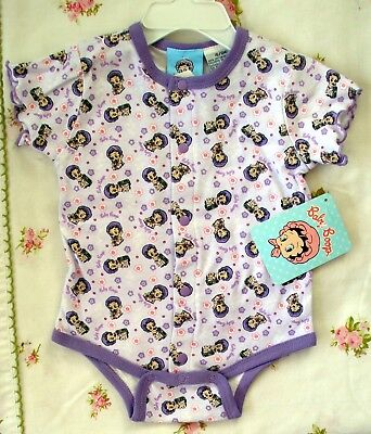 Betty Baby Boop - Infant Bodysuit - Size 6-9 Months - Nwt - Only One!  Purple