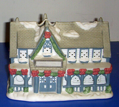 Candle Shop PO266 Partylite Tealight Candle Retired Christmas Village
