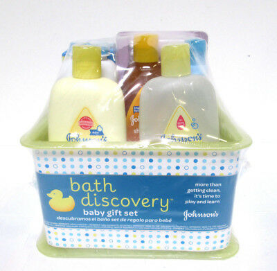 Johnson's Bath Discovery Baby Gift Set - BRAND NEW / SEALED [MB-J]