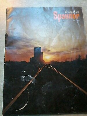 Canadian Pacific Railroad  Spanner Magazine March 1968