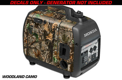 Decal Wrap For Honda EU2000i Skin Camping Generator Engine Sticker WOODLAND CAMO
