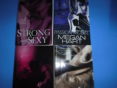 Lot Of 4 Erotic Novels By Various Authors