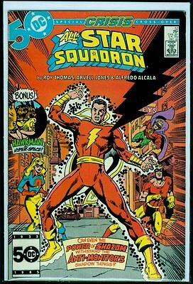 DC Comics ALL-STAR SQUADRON #52 Shazam! Captain Marvel FN+ 6.5