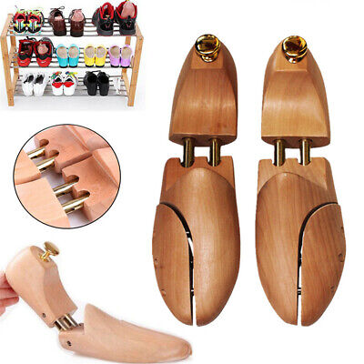 Wholesale Pairs Mens Shoe Tree Elements Cedar Wood Bunion Adjustable Shaper 4-12