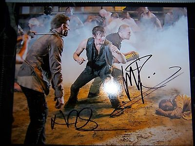 The Walking Dead Cast Signed 8X10 Photo Reedus Rooker With Coa