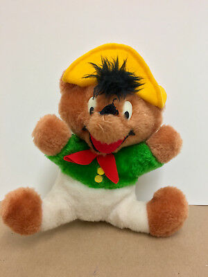 Warner Bros WB Mighty Star Speedy Gonzales Looney Tunes Stuffed Plush Doll 1971