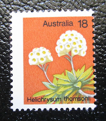 Misprint / Printing Error 1975 18c Wildflower MUH No White Margin on Right Side