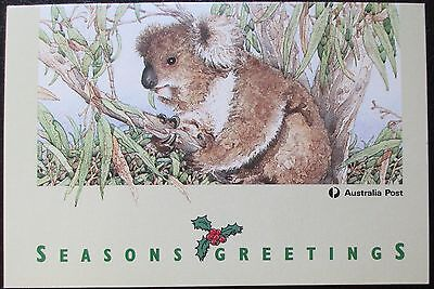 Australia Post 1992 Christmas Card with Koala