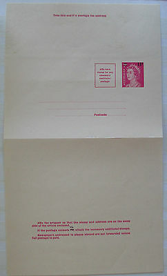 Newspaper Wrapper 7c Overprinted to 11c - Unused and folded
