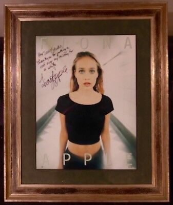 Fiona Apple Signed Photo, Poster-Sized, Framed