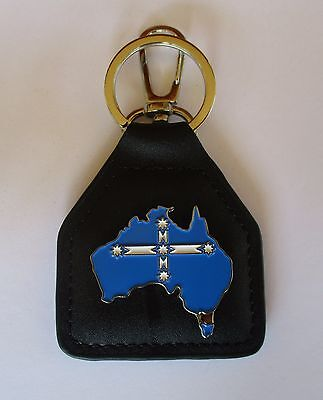 Eureka Flag Australian Ring & Parrot Clip - Top Quality biker car men's shed