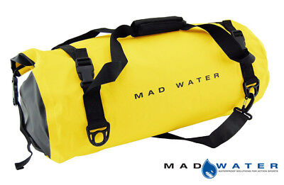 Mad Water – Classic Roll Top Waterproof Duffel Bag, 30L, Yellow, M43005