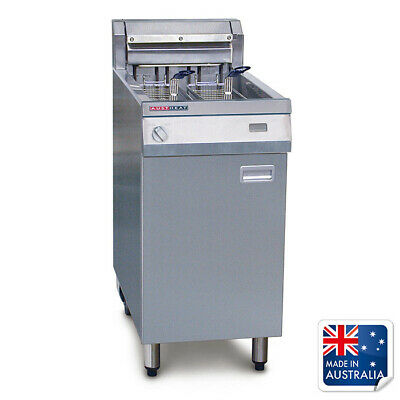 Deep Fryer Single Vat 29L 2 Baskets with Rapid Recovery Austheat Equipment