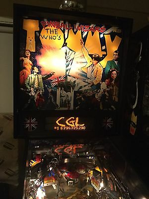 Tommy Who Pinball Machine