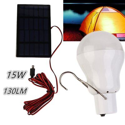 1 5w solar gl hbirne solarlampe led solarleuchte au enbeleuchtung camping lampe picclick de. Black Bedroom Furniture Sets. Home Design Ideas