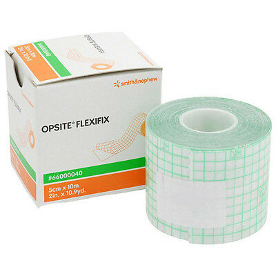 Opsite Flexifix Transparent Adhesive Waterproof Film Dressing & Tube Fixation