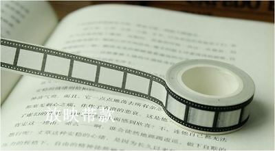 Film Carmera Reel 1.5cm X 10m Washi Tape DIY Scrapbook Album Diary