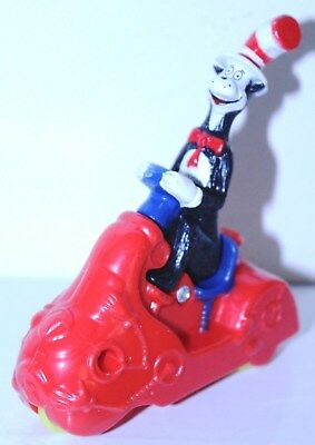 """The Cat in the Hat by Dr. Seuss 4"""" Action Figure """"The Cat on Scooter"""""""