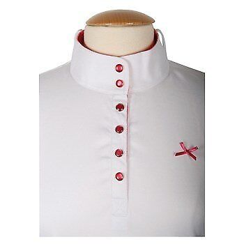 Competitionshirt Rosa - by HH - (26100569)  RRP $65.95 in White/White