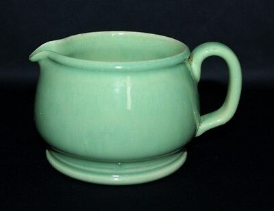 Gorgeous Green Glazed Bakewells Pottery Jug Circa 1930's