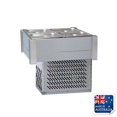 Bain Marie / Cold Food Bar Empty No Pans Fits 4x 1/2 Pans Roband Chilled Bar