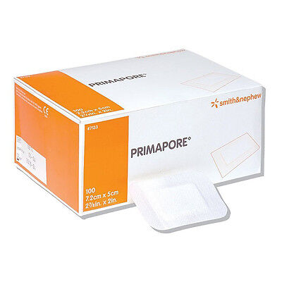 Primapore  Adhesive Wound Dressing Bandage Breathable Different Sizes