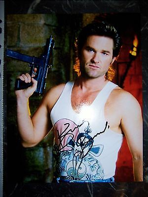 Kurt Russell Signed 8X10 Big Trouble In Little China Photo With Coa