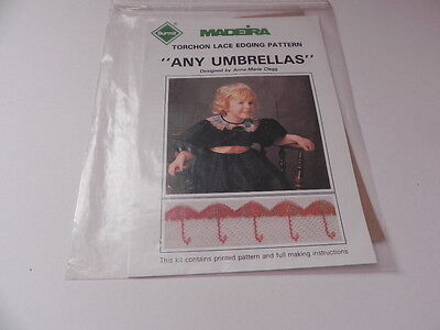 Madeira  Torchon Lace Edging Pattern - Any Umbrellas