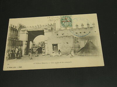 Morocco 1909 Oudjda picture postcard to *23176
