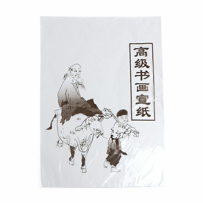 35cmx26cm /49x34cm Xuan Paper Chinese Raw Rice Paper Painting Calligraphy 30Pcs