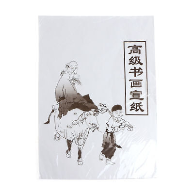 49x34cm / 35cmx26cm Xuan Paper Chinese Raw Rice Paper Painting Calligraphy 30Pcs