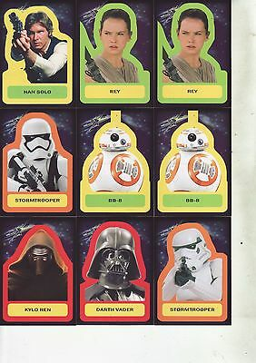 2015 Topps Journey to Star Wars Lot of 35 Cards