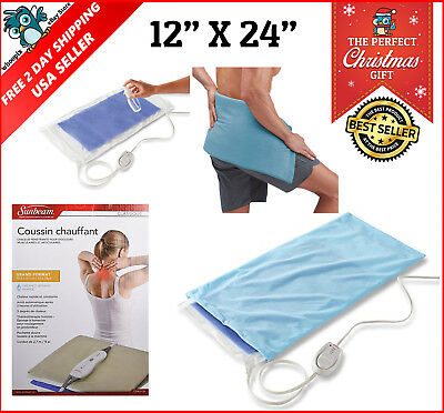 King Size Moist & Heating Pad with UltraHeat Technology Muscle Body Cramp Relief